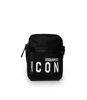 DSQUARED2 ICON BLACK CROSSBODY BAG