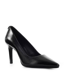 MICHAEL KORS DOROTHY BLACK PATENT LEATHER PUMP