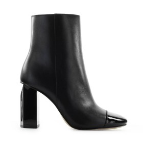 MICHAEL KORS PETRA BLACK ANKLE BOOT