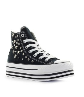 SNEAKER CHUCK TAYLOR ALL STAR NERO BORCHIE CONVERSE
