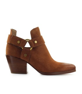 MICHAEL KORS PAMELA LIGHT BROWN TEXAN BOOTIE