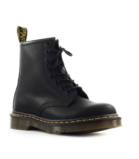DR. MARTENS 1460 GREASY BLACK COMBAT BOOT