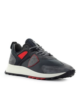 SNEAKER ROYALE MONDIAL ANTRACITE ROSSO PHILIPPE MODEL