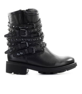 ASH TEMPT BLACK NAPPA LEATHER BOOT