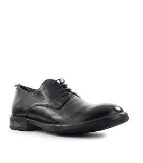 MOMA CUSNA BLACK DERBY LACE UP SHOE