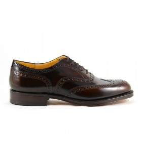 CHURCH'S BURWOOD BURNT/EBONY LACE UP