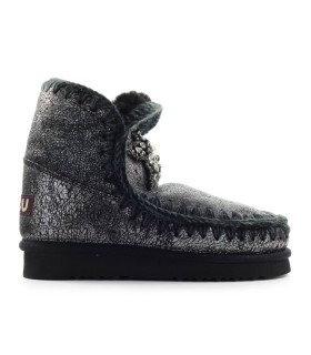 STIVALETTO ESKIMO 18 FRONT STAR PATCH NERO MOU