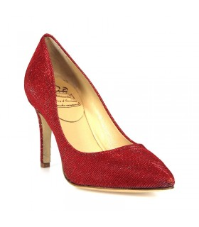 L'ARIANNA DE100290 RED PUMPS