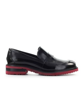 ROBERTO FESTA BARROW BLACK LEATHER LOAFER