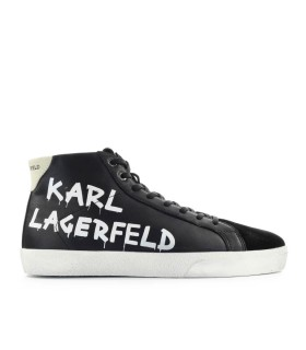KARL LAGERFELD SKOOL BLACK HIGH SNEAKER