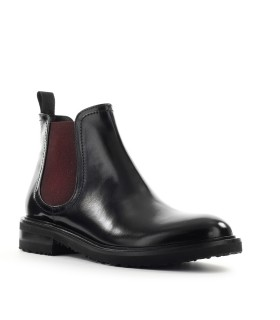 ROBERTO FESTA GARMISH BLACK LEATHER CHELSEA BOOT