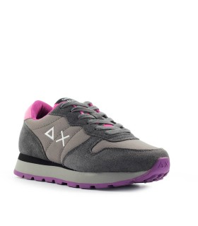SUN68 ALLY SOLID DARK GREY SNEAKER
