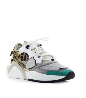 SNEAKER EZE POP BEIGE BIANCO PHILIPPE MODEL