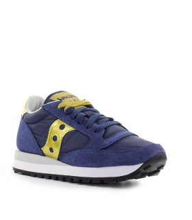 SAUCONY JAZZ ORIGINAL BLUE GOLD SNEAKER