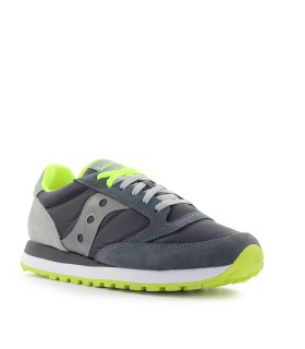 SAUCONY JAZZ ORIGINAL GREY FLUO GREEN SNEAKER