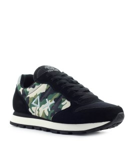 SUN68 TOM MILITARY CAMOUFLAGE GREEN SNEAKER