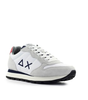 SNEAKER TOM SOLID NYLON BIANCO NAVY SUN68