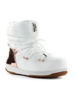 MOON BOOT LOW ASPEN WP WHITE SNOW BOOT