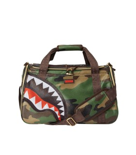 SPRAYGROUND CAMO SHARK PET CARRIER BAG