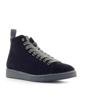 PÀNCHIC NAVY BLUE GREY SUÈDE BOOT
