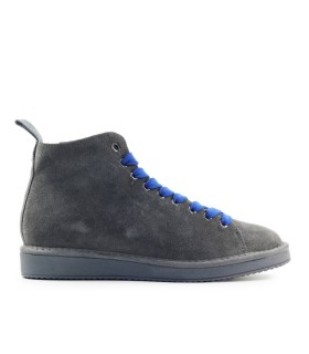 PÀNCHIC ANTHRACITE GREY BLUE SUÈDE BOOT