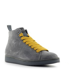 PÀNCHIC GREY YELLOW SUÈDE BOOT