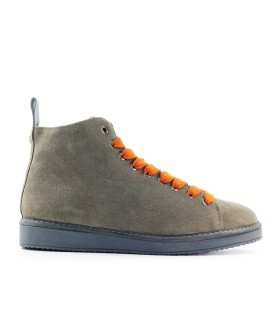 PÀNCHIC BROWN ORANGE SUÈDE BOOT
