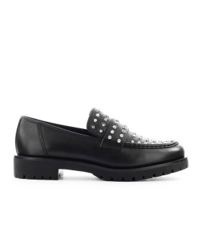 MICHAEL KORS HOLLAND BLACK LOAFER