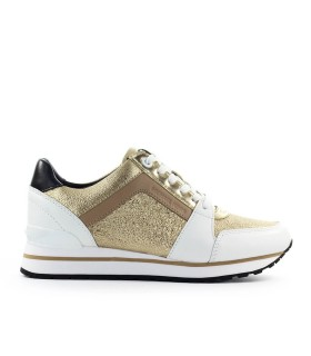 MICHAEL KORS BILLIE GOLD SNEAKER