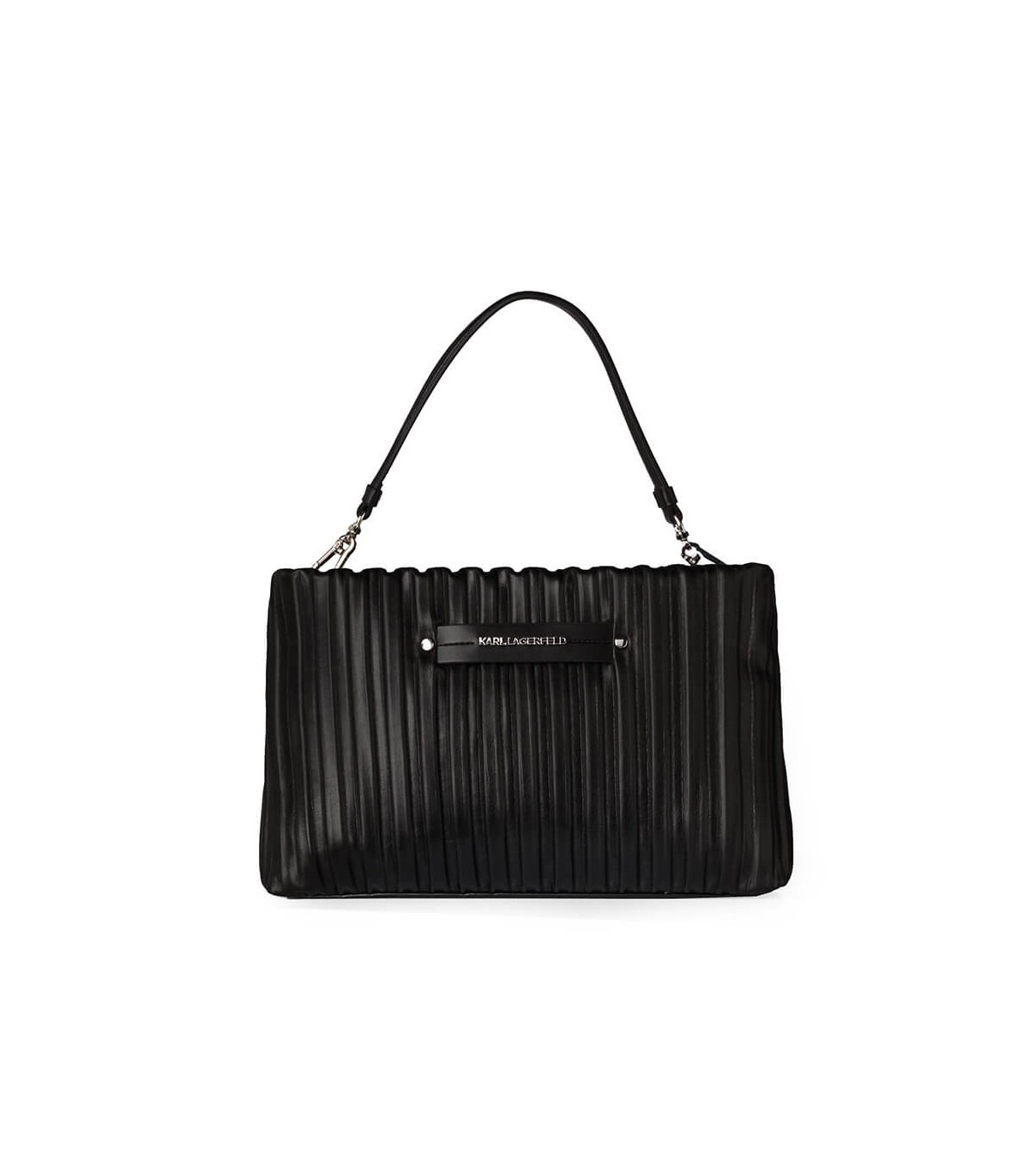 Karl Lagerfeld K/KUSHION BLACK CLUTCH