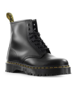 DR. MARTENS 1460 BEX SMOOTH BLACK COMBAT BOOT