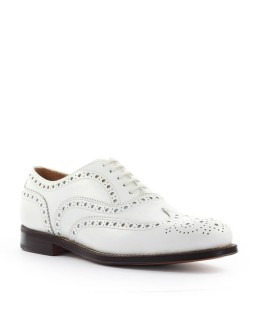 CHURCH'S BURWOOD 3 WHITE LACE UP