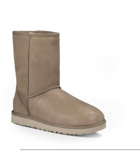 STIVALETTO CLASSIC SHORT LEATHER FEATHER UGG