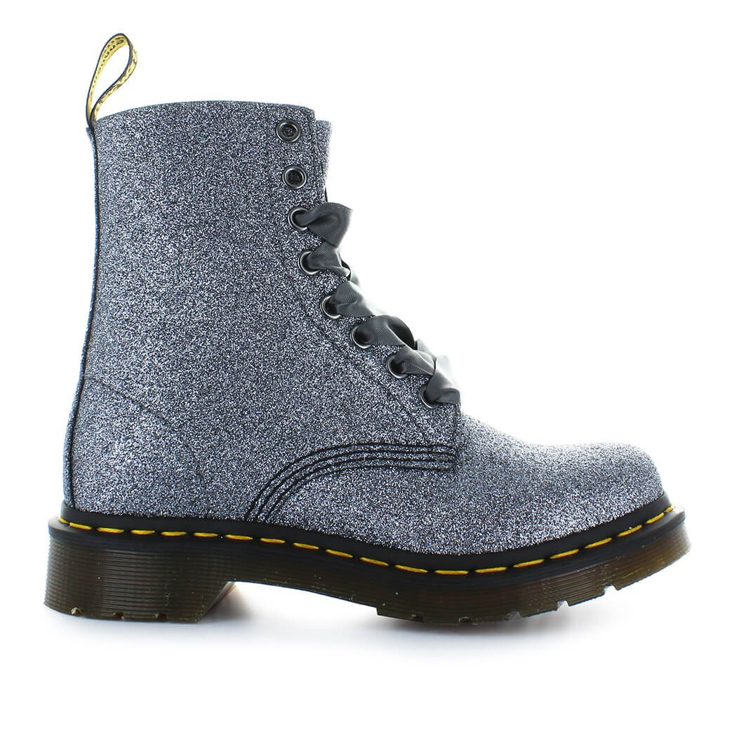 Dr. Martens PASCAL GLITTER PEWTER BOOT
