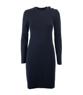 SAINT JAMES GRANDE MAREE U BLUE NAVY DRESS