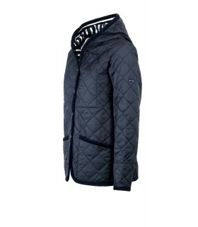 SAINT JAMES CRAYDON STJ NAVY BLUE PADDED COAT