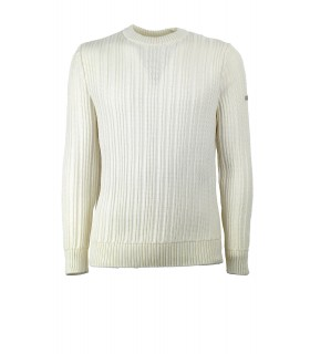 SAINT JAMES MOUTHIERS WHITE SWEATER
