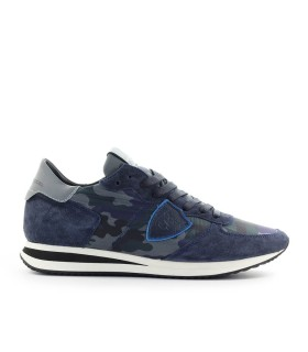 PHILIPPE MODEL TRPX CAMOUFLAGE BLUE SNEAKER