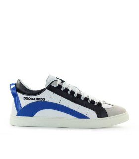 DSQUARED2 551 WHITE BLUE SNEAKER