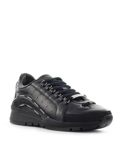 DSQUARED2 551 BLACK SNEAKER WITH LOGO
