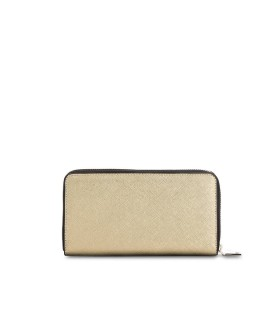 LOVE MOSCHINO GOLD LARGE WALLET