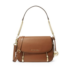 MICHAEL KORS BEDFORD LEGACY LIGHT BROWN SHOULDER BAG
