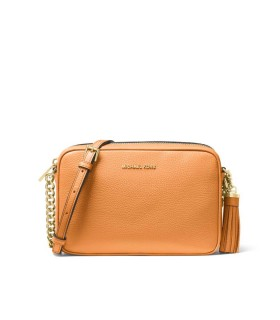 MICHAEL KORS GINNY MEDIUM ORANGE CROSSBODY BAG