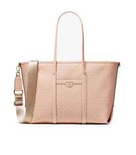MICHAEL KORS BECK PINK LARGE SHOPPING BAG