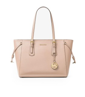 MICHAEL KORS VOYAGER SOFT PINK SHOPPING BAG