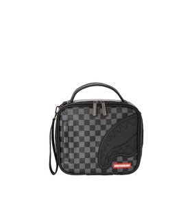SPRAYGROUND HENNY CHECKERED BLACK WRIST BAG