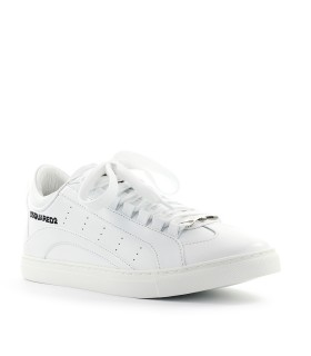 SNEAKER LOW SOLE BIANCO DSQUARED2