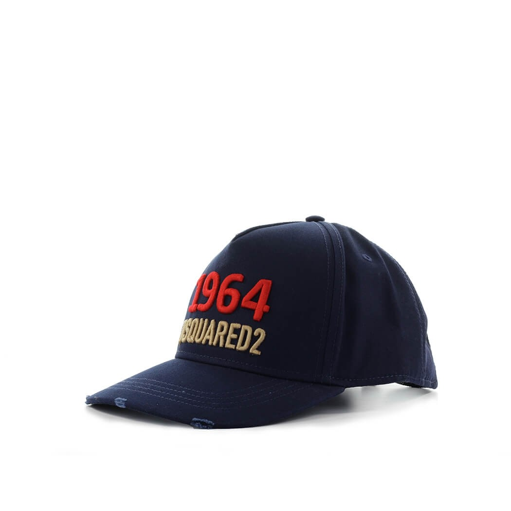 Dsquared2 1964 NAVY BLUE BASEBALL CAP