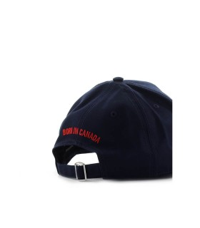 CAPPELLO DA BASEBALL 1964 NAVY DSQUARED2
