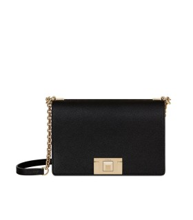 FURLA MIMI' BLACK CROSSBODY BAG